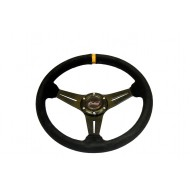 Outlaw Products SW09 Suede Steering Wheel